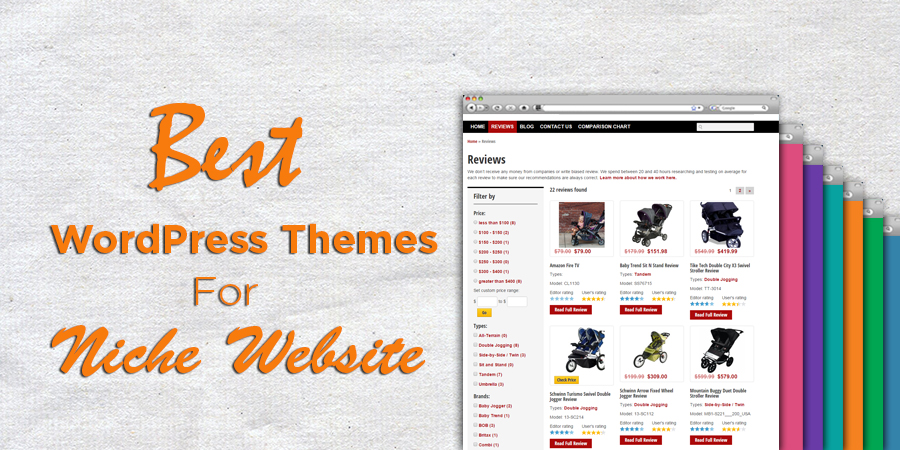 WordPress Theme For Niche Site