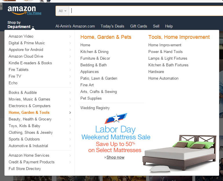 Amazon Categories For Keyword Research